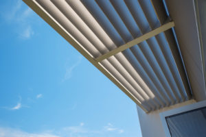 louvered awning